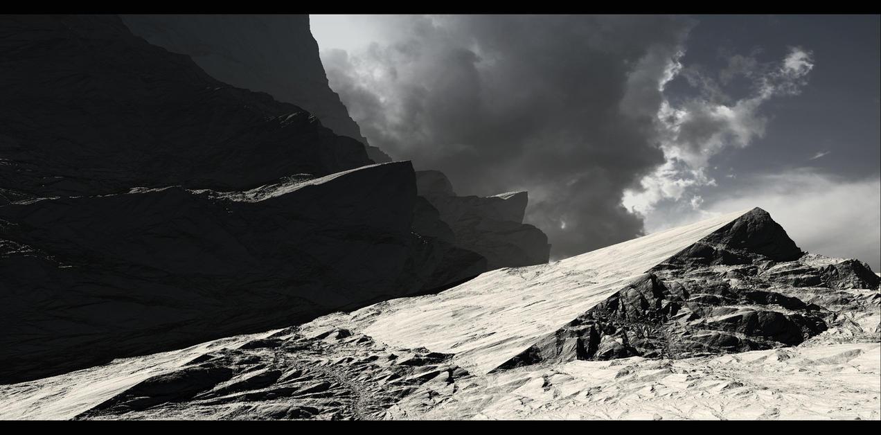 On the ridge by YuryKyssa