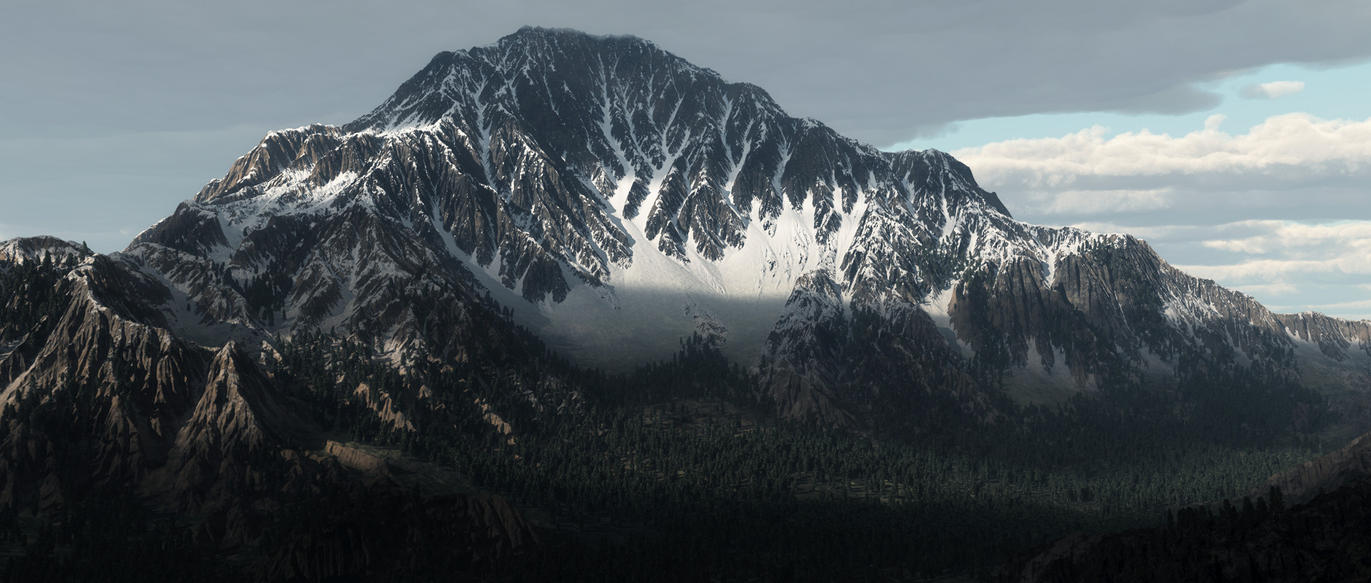 Mountain by YuryKyssa