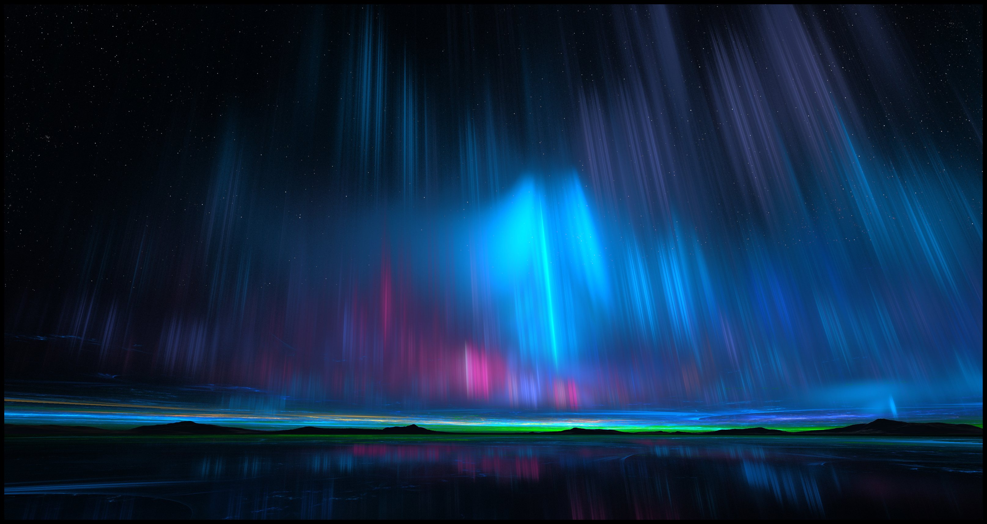 Northern Lights By YuryKyssa On DeviantArt