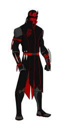 Daredevil redesign (Hand) by shorterazer