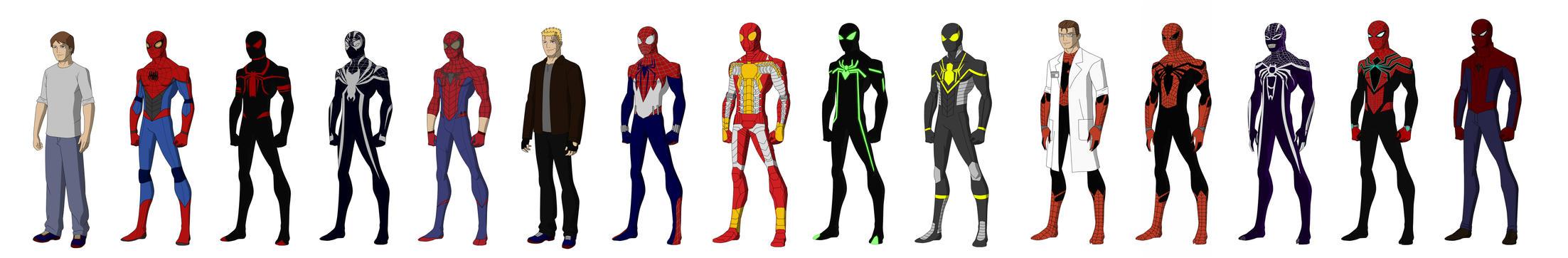 Spider-man redesign vol.1 by shorterazer