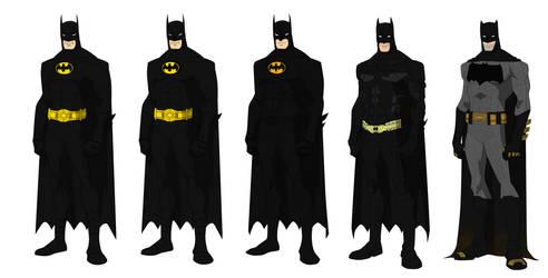 Batman Movies W.I.P by shorterazer