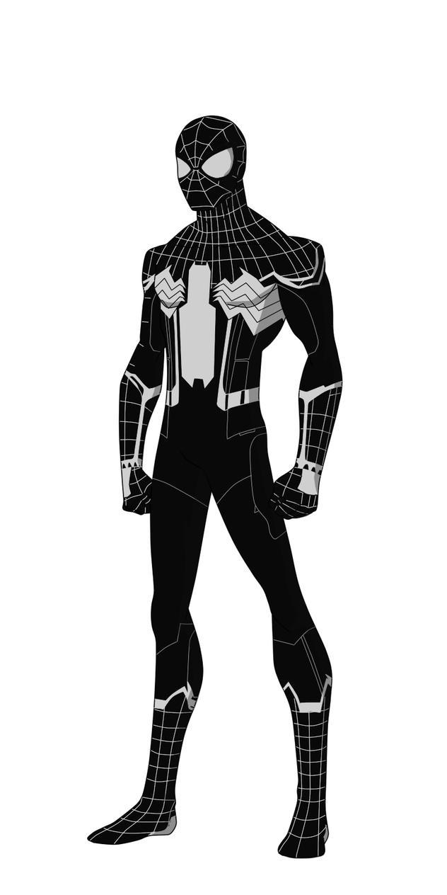 Spider-Man black suit reqest by shorterazer on DeviantArt