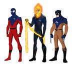 Different Fantastic Four redesign W.I.P.