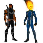 Marvel Knights (MCEU)-Blade and Ghost rider