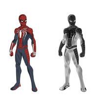 Ps4 Spider-Man by shorterazer