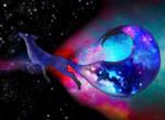 Through galaxies
