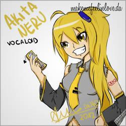 Neru vocaloid :3 by makemefeelinlove