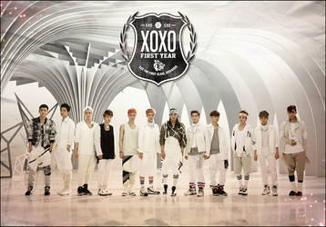 EXO wallpaper by makemefeelinlove