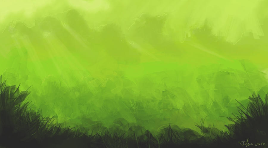 Green Forest Rough Sketch N1 By Ajaxe On Deviantart