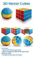 3D Vector Cubes