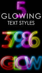 Glowing Text Styles