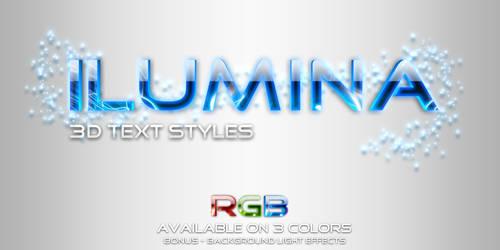 Ilumina - Glowing Text Styles by ArtoriusGothicus