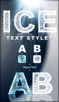 Ice Text Styles by ArtoriusGothicus