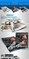 Adv. Magazine Cover Templates