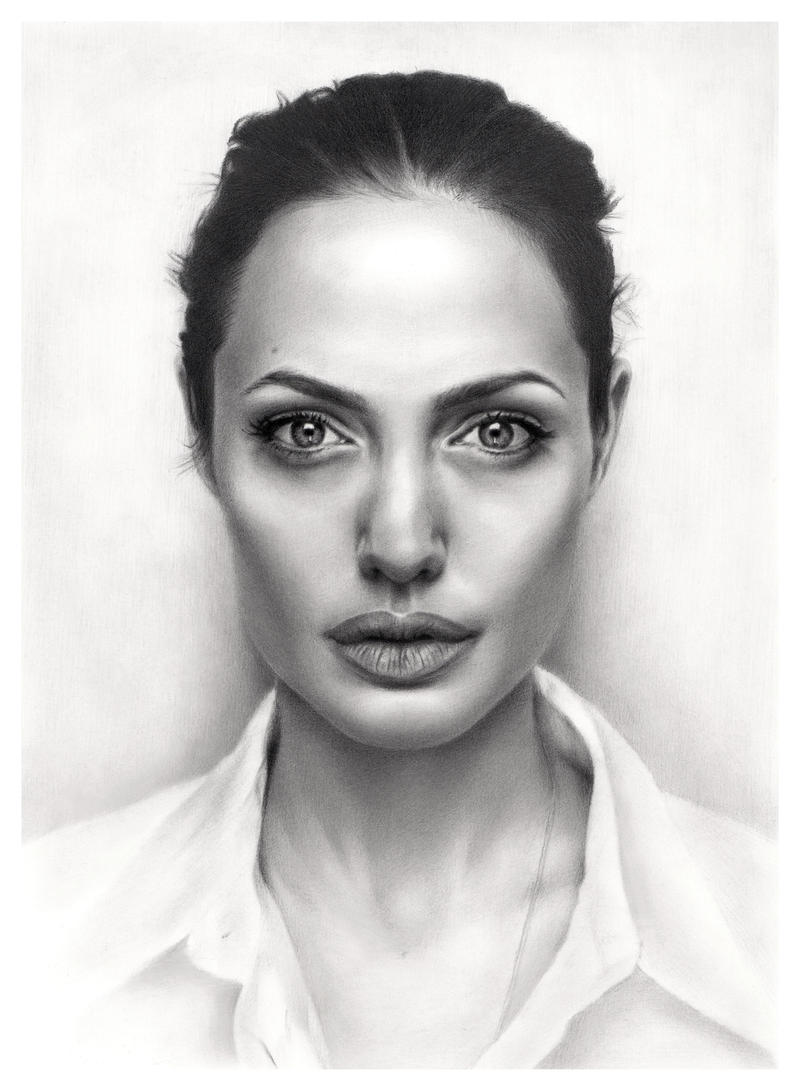My own Angelina Jolie.. by Sikoian