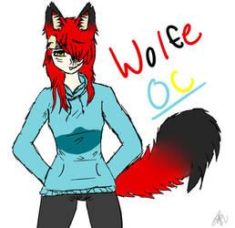OC Wolfe by WolfeSatan