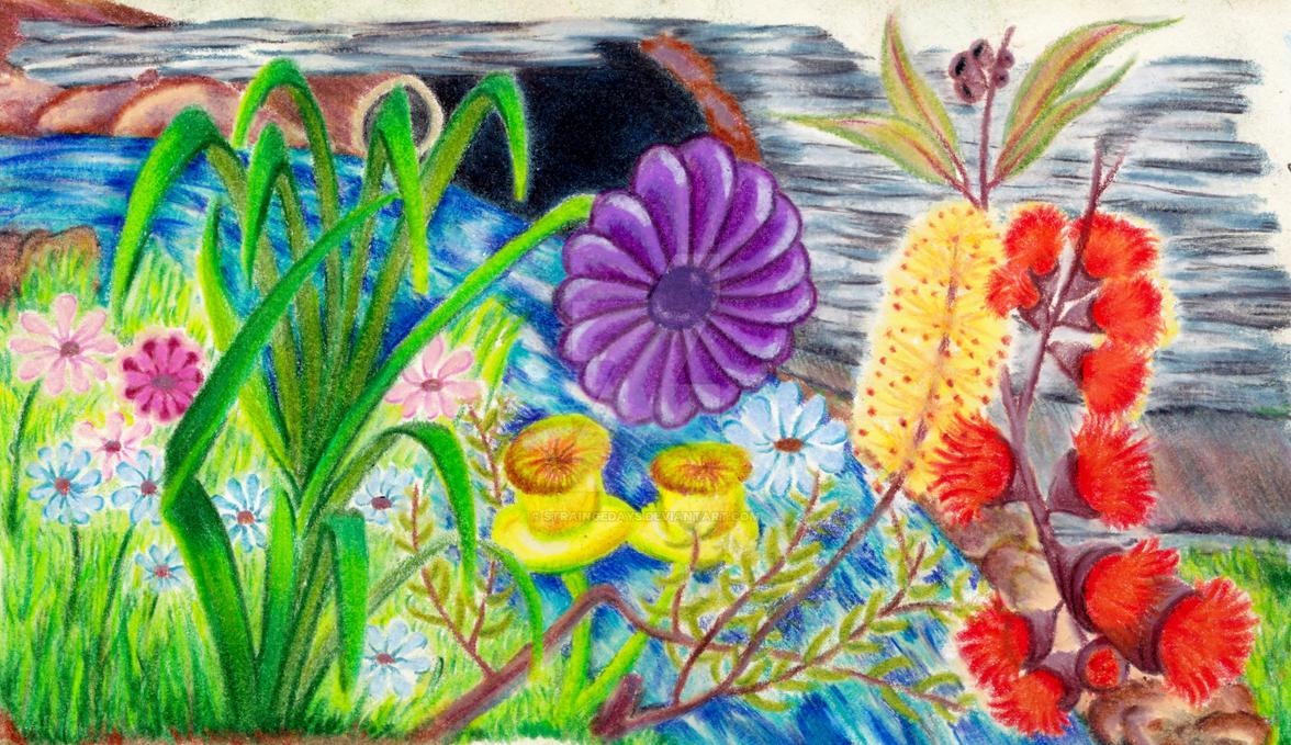 Doodlers Garden by straingedays