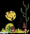 (F2U) Small Nature 4 : Mushrooms by Ampraeh