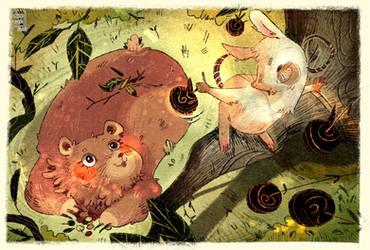 Virtua Art [$] - Morabius : Rat et Ours