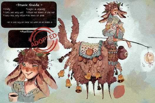 Adoptable CLOSED : Drunk Guide