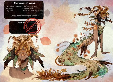 Adoptable CLOSED: Diviner naga
