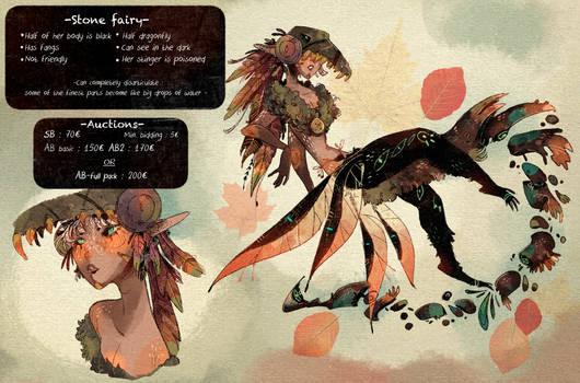 Adoptable OPEN : Stone fairy