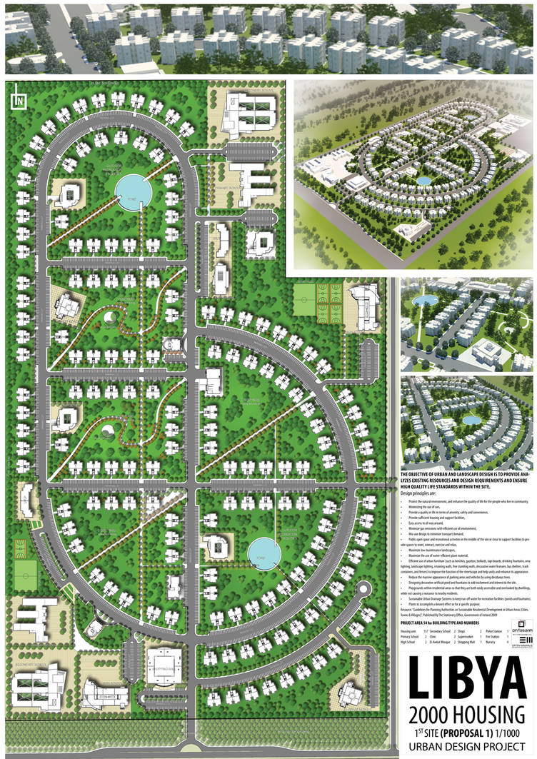 Urban Design At Libya A1 By Bearsign On Deviantart