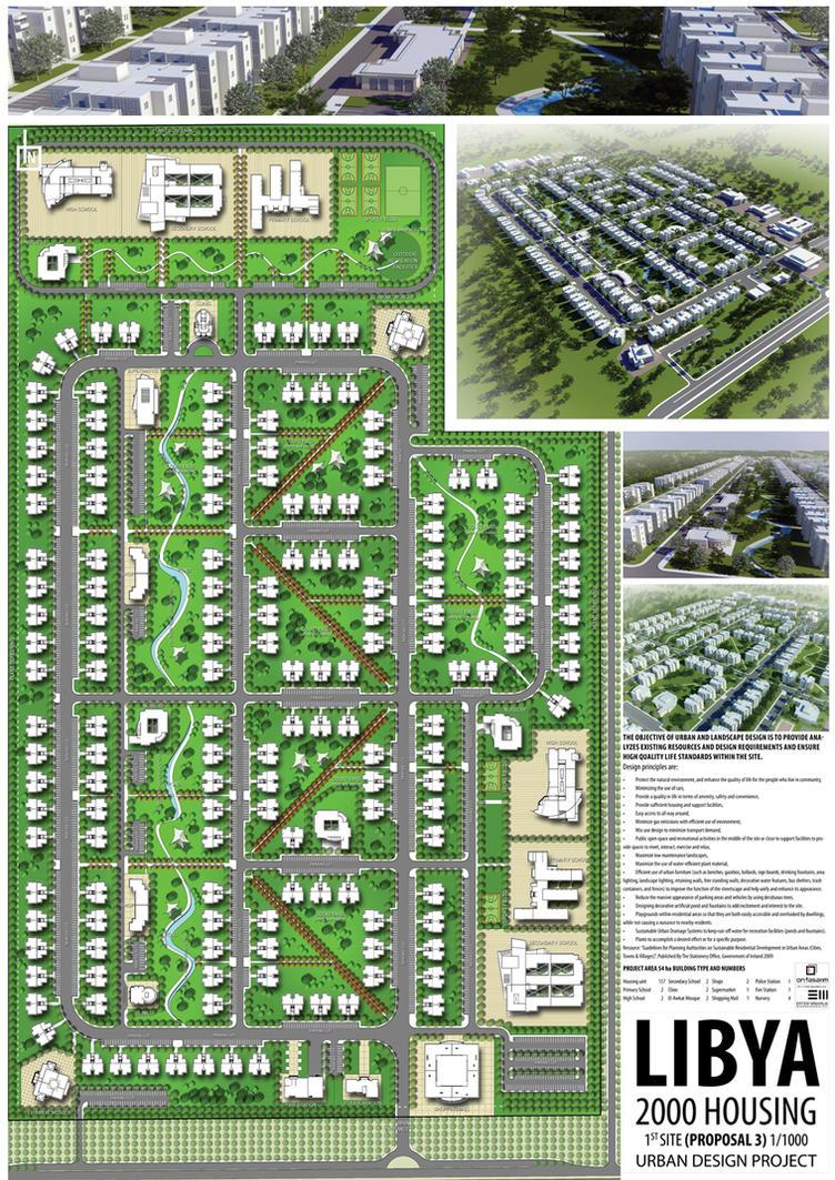 Urban design at libya a3 by bearsign on deviantart Urban design vs urban planning