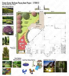 Cimen G. Restaurant Landscape Preliminary Design by bearsign