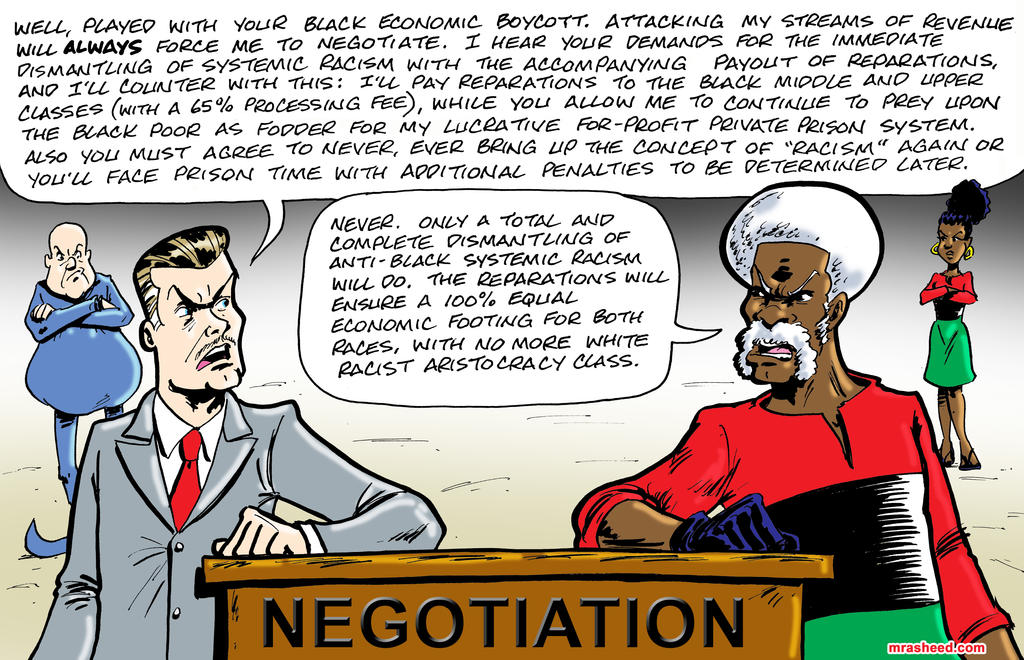 Negotiating Freedom by mrasheed
