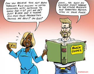 Silly, Blackie... Freedom is for Wypipo by mrasheed