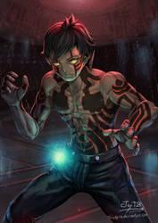FanArt3 Hitoshura Shin Megami Tensei by Triedg13