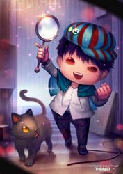 Detective KIDdo by TriEdg13 by Triedg13