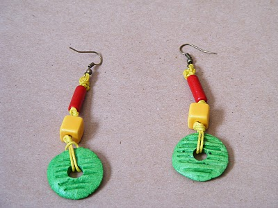 Ragga earrings by Flos-Caeli