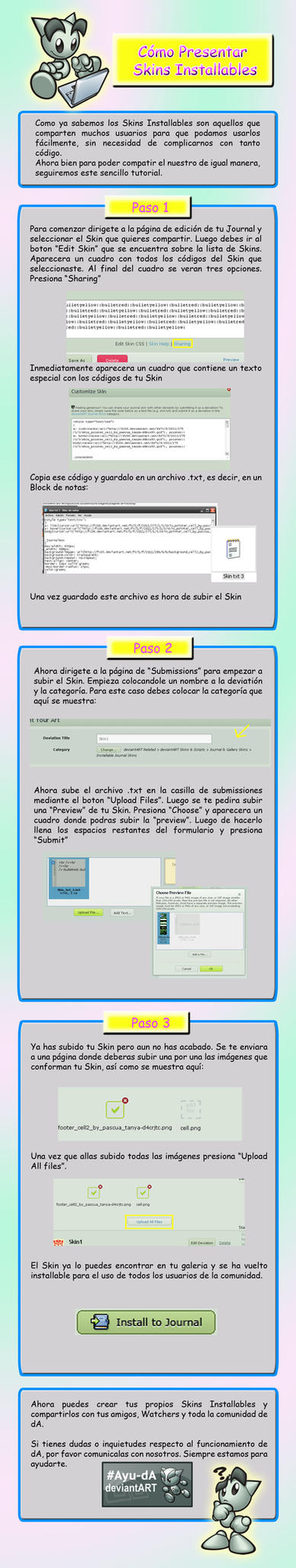 Tutorial:Skins Installables by Pascua-Tanya