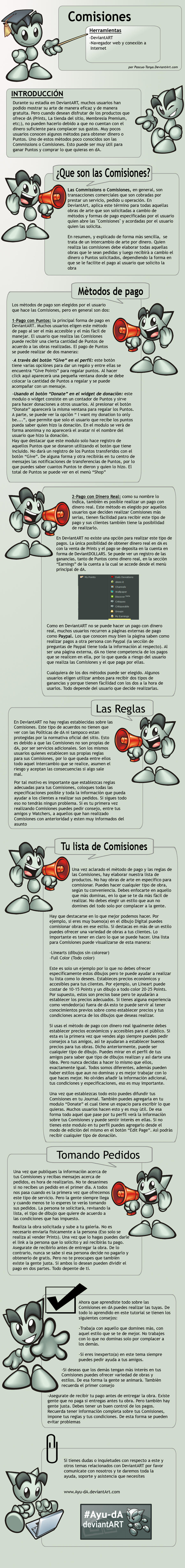 Tutorial: Comisiones by Pascua-Tanya