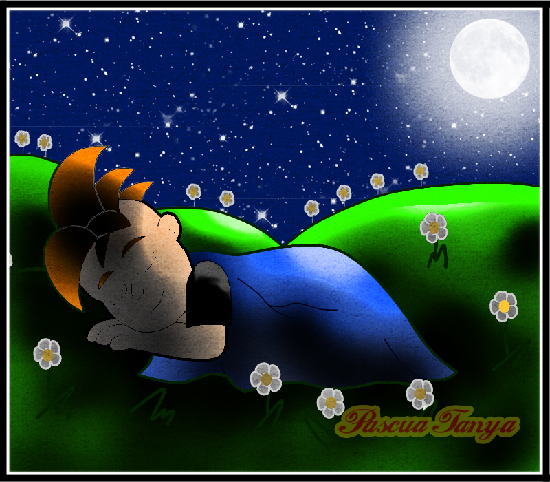 Sleeping under the Stars by Pascua-Tanya