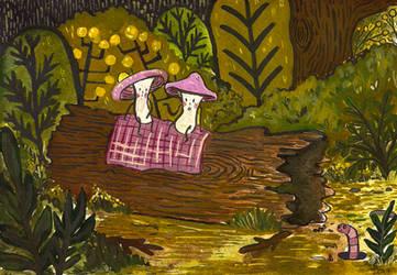 Forest gossips by SilverYasminium