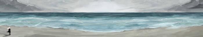 :MoW: By the seaside by SilverYasminium