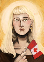 MoW: Matka Boska Kanadyjska by SilverYasminium