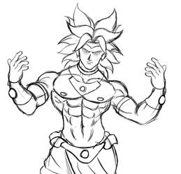 Broly by Colour-of-Dreams