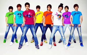 Super Junior Wall by singthistune