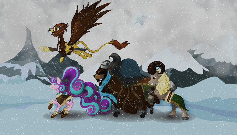 Off to Adventure: Contest Entry by pretty-pegasus-wings