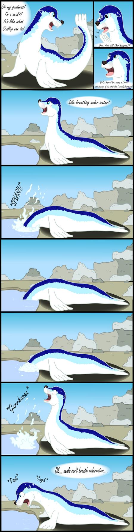 Sea Lion Azure: Adventures in Biology by pretty-pegasus-wings