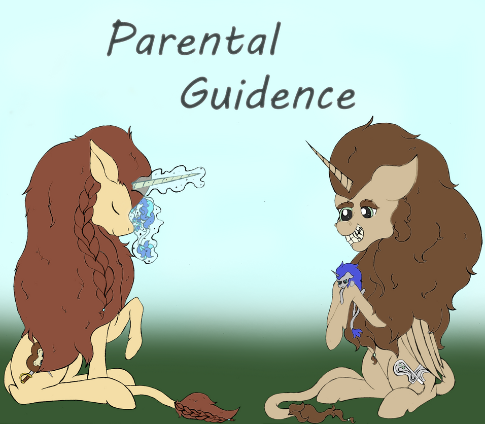 Parental Guidence Cover by pretty-pegasus-wings