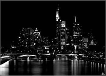 Frankfurt - Skyline at night by Denis90