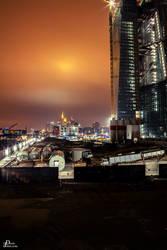 Frankfurt am Main at night by Denis90