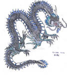 Chinese Dragon -Colored-