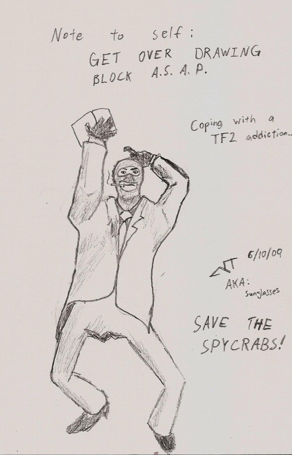 Art Block: Spycrab